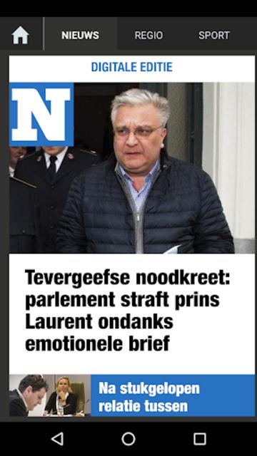 Het Nieuwsblad Krant screenshot 2
