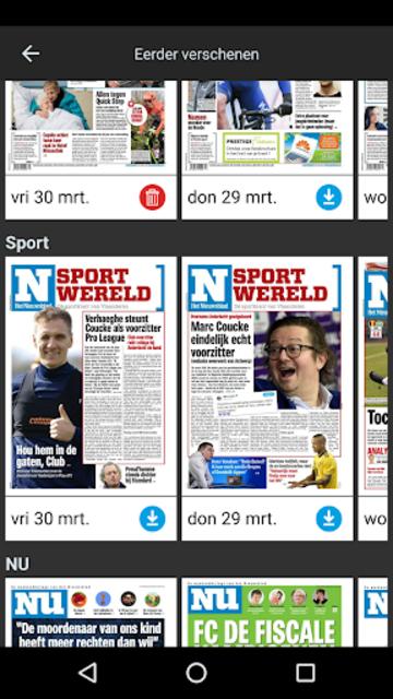 Het Nieuwsblad Krant screenshot 5