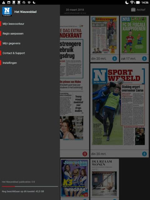 Het Nieuwsblad Krant screenshot 17