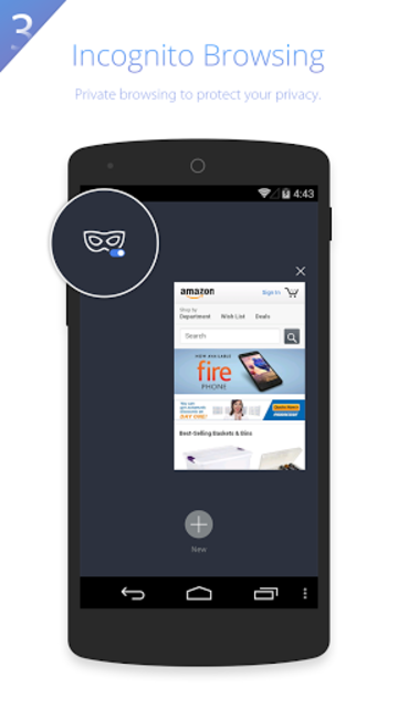 UC Browser HD for Tablet screenshot 2