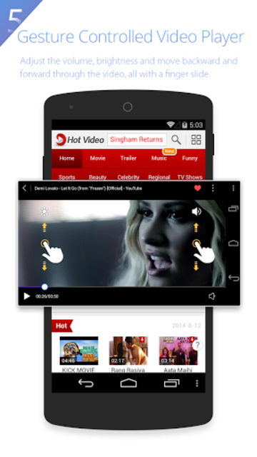 UC Browser HD for Tablet screenshot 3