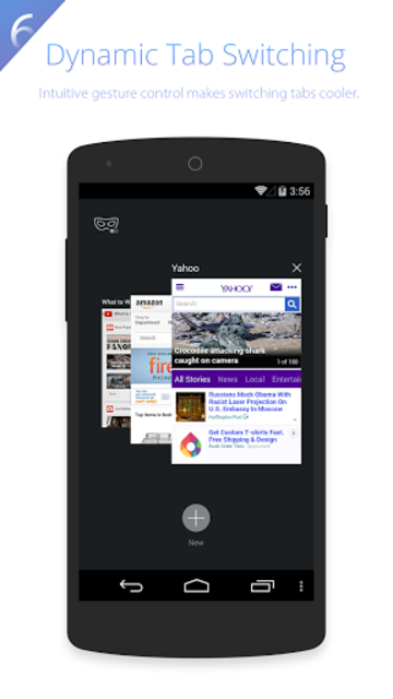 UC Browser HD for Tablet screenshot 4