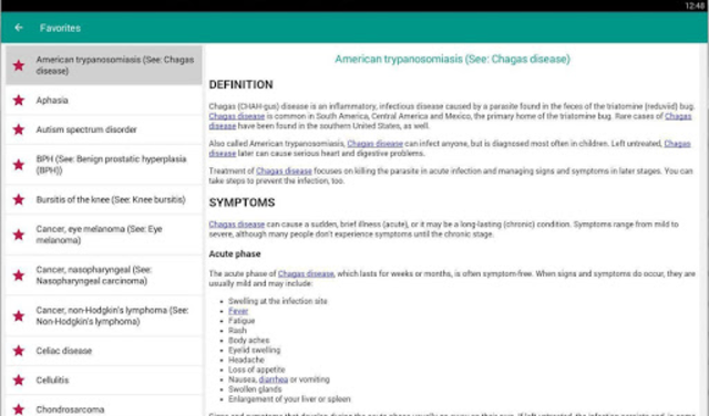 Disorder & Diseases Dictionary 2019 screenshot 8