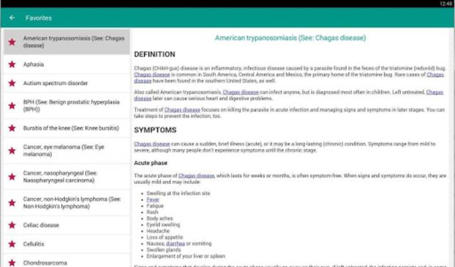 Disorder & Diseases Dictionary 2019 screenshot 11