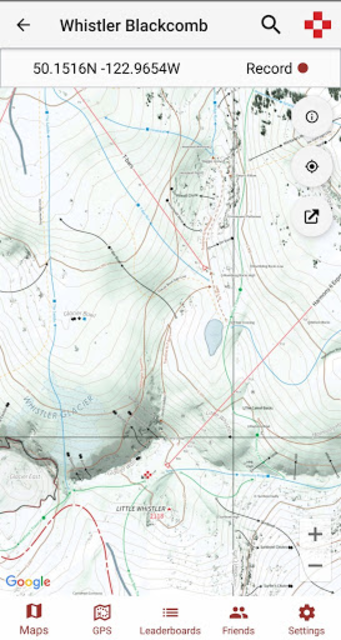 ULLR Maps screenshot 2