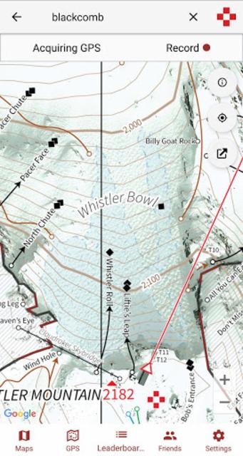 ULLR Maps screenshot 3