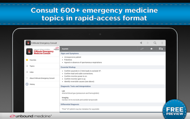 5-Minute Emergency Consult screenshot 6