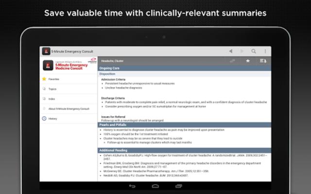 5-Minute Emergency Consult screenshot 9