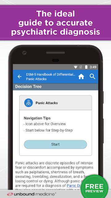 DSM-5 Differential Diagnosis screenshot 1