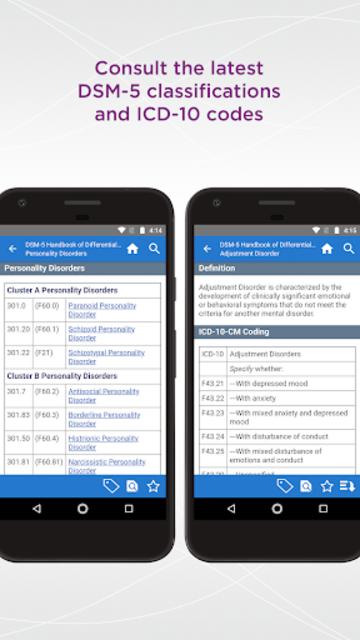 DSM-5 Differential Diagnosis screenshot 5