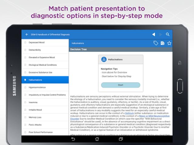 DSM-5 Differential Diagnosis screenshot 7