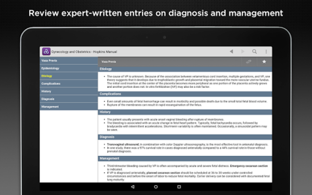Gynecology and Obstetrics screenshot 9