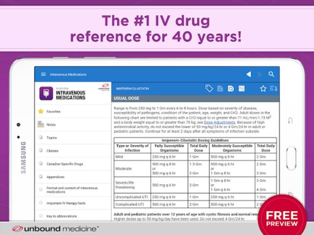 Intravenous Medications Gahart screenshot 11