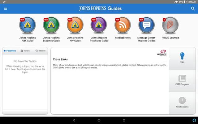 Johns Hopkins Guides ABX... screenshot 11