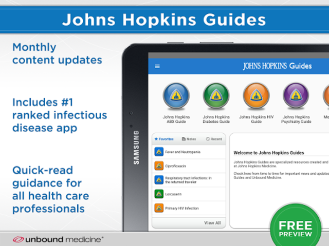 Johns Hopkins Guides ABX... screenshot 12