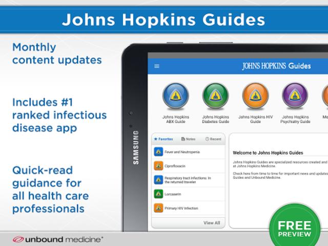 Johns Hopkins Guides ABX... screenshot 6