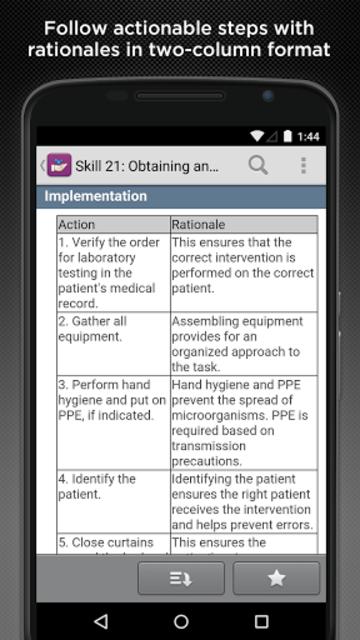Taylor's Nursing Skills screenshot 4