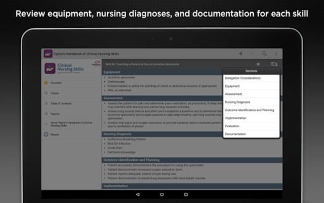 Taylor's Nursing Skills screenshot 10
