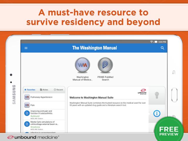 The Washington Manual screenshot 6