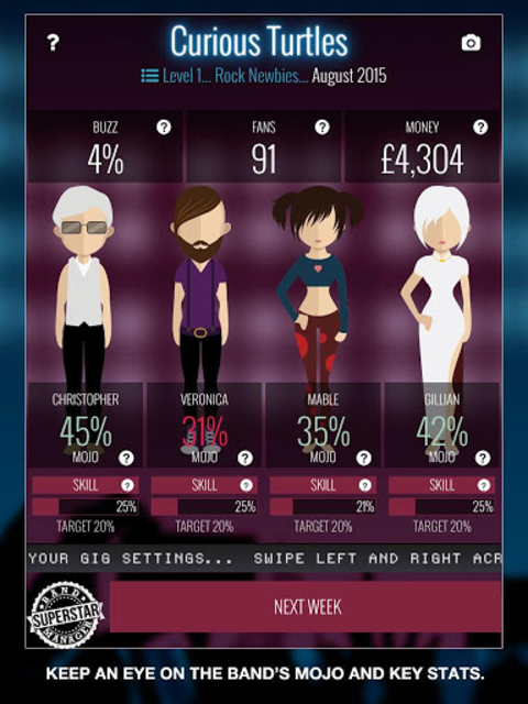 Superstar Band Manager screenshot 6