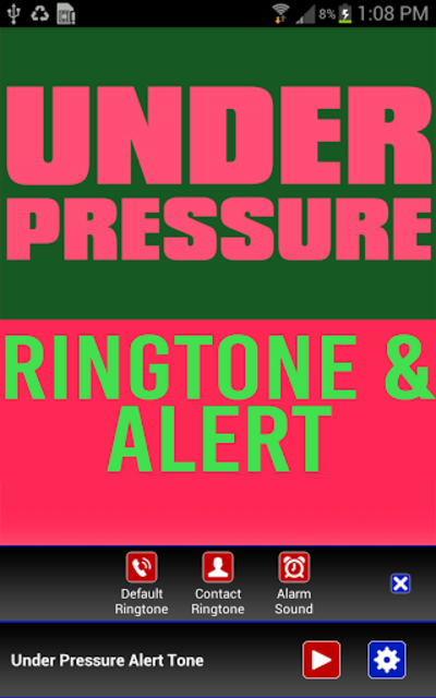 Under Pressure Ringtone screenshot 2