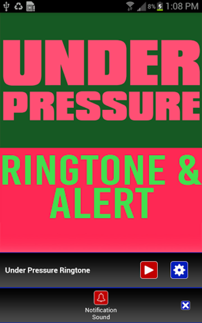 Under Pressure Ringtone screenshot 3