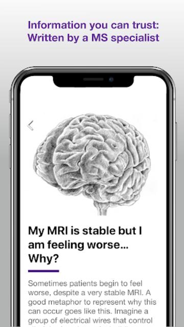 Understanding MRI: Multiple Sclerosis screenshot 1