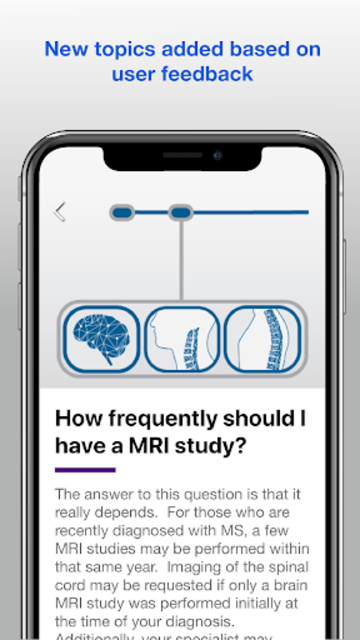 Understanding MRI: Multiple Sclerosis screenshot 2