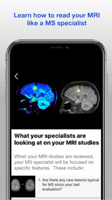 Understanding MRI: Multiple Sclerosis screenshot 6