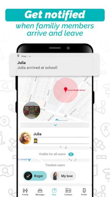 iMapp - Find My Friends screenshot 2