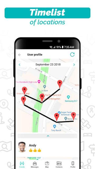 iMapp - Find My Friends screenshot 3