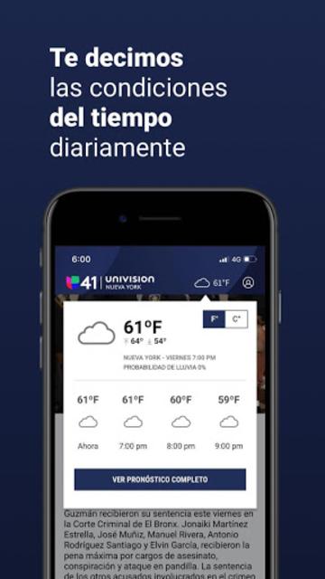 Univision 41 Nueva York screenshot 4