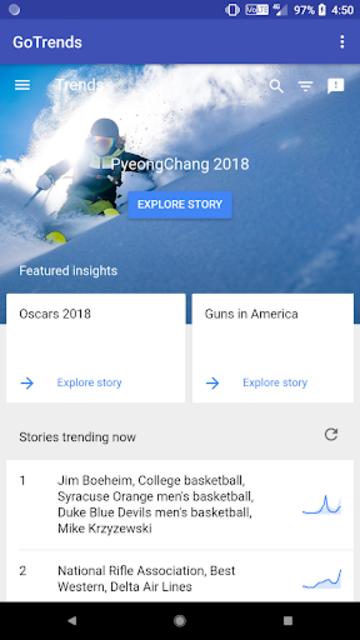 GoTrends - Google Trends screenshot 1
