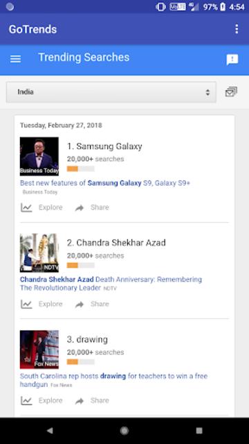 GoTrends - Google Trends screenshot 4