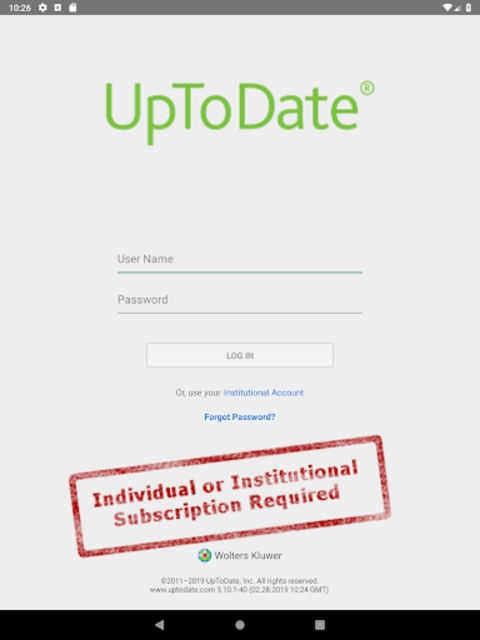 UpToDate for Android screenshot 11