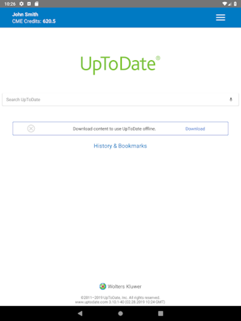 UpToDate for Android screenshot 12