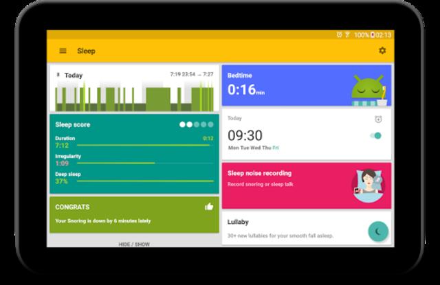 Sleep as Android: Sleep cycle tracker, smart alarm screenshot 16