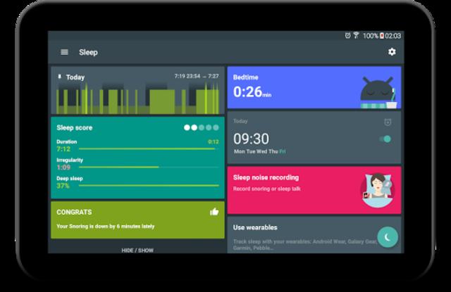 Sleep as Android: Sleep cycle tracker, smart alarm screenshot 17