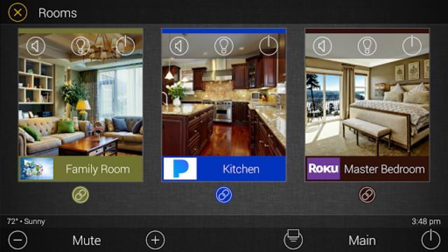URC Total Control 2.0 Mobile Demo screenshot 6