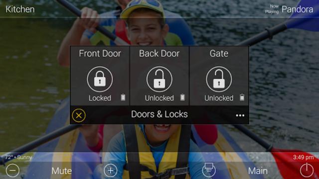 URC Total Control 2.0 Mobile Demo screenshot 8