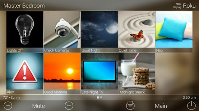 URC Total Control 2.0 Mobile Demo screenshot 12