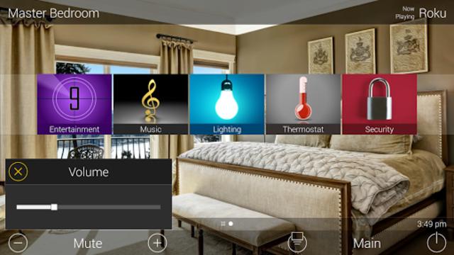 URC Total Control 2.0 Mobile Demo screenshot 13