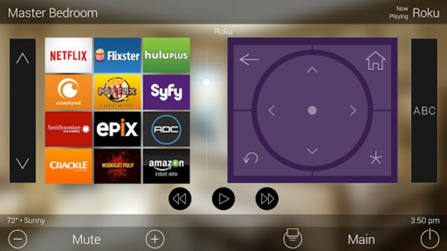 URC Total Control 2.0 Mobile Demo screenshot 14