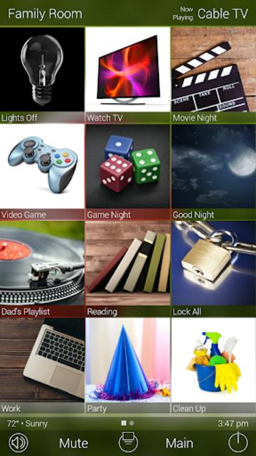 URC Total Control 2.0 Mobile Demo screenshot 4