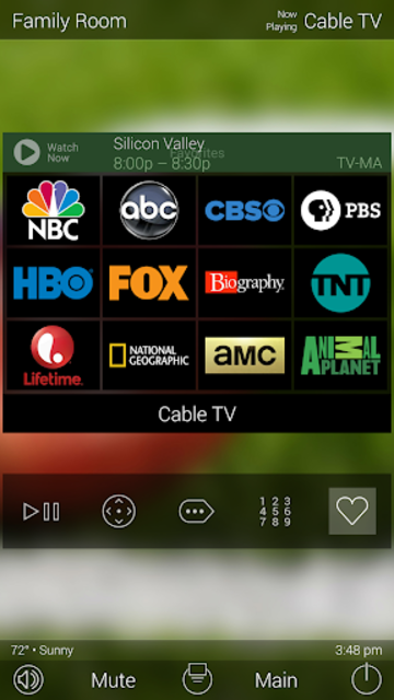 URC Total Control 2.0 Mobile Demo screenshot 5