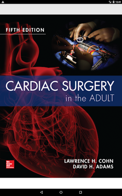 Cardiac Surgery in the Adult, 5th Edition screenshot 9