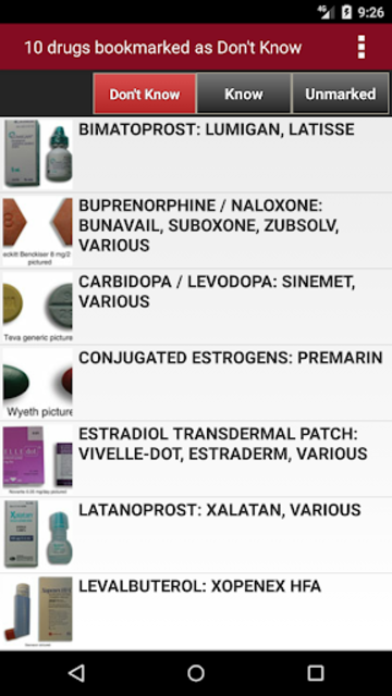 McGraw-Hill's 2018/19 Top 300 Pharmacy Drug Cards screenshot 8