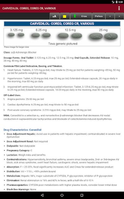 McGraw-Hill's 2018/19 Top 300 Pharmacy Drug Cards screenshot 11