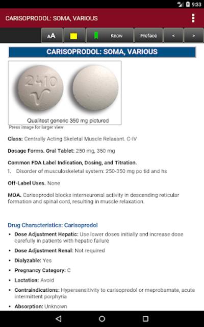 McGraw-Hill's 2018/19 Top 300 Pharmacy Drug Cards screenshot 19