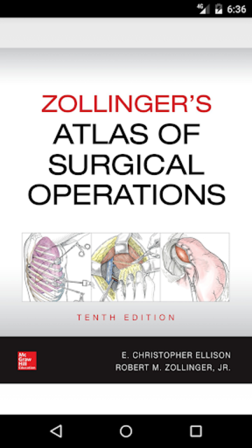 Zollinger's Atlas of Surgical Operations, 10/E screenshot 1